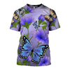 3D All Over Printed Butterfly T Shirt Hoodie 21126