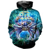 3D All Over Printed Cancer Zodiac T Shirt Hoodie 221201