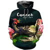 3D All Over Printed Cancer Zodiac T Shirt Hoodie 221202