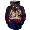 3D All Over Printed Cancer Zodiac T Shirt Hoodie 221206