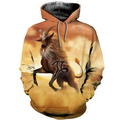 3D All Over Printed Capricorn Zodiac T Shirt Hoodie 20102