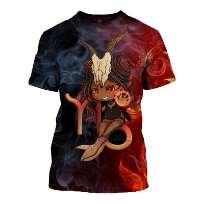 3D All Over Printed Capricorn Zodiac T Shirt Hoodie 20108