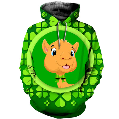 3D All Over Printed Alpaca Patrick T Shirt Hoodie 2222019