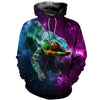 3D All Over Printed Chameleon T Shirt Hoodie 171202