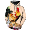 3D All Over Printed Chicken T Shirt Hoodie 41201911