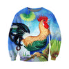 3D All Over Printed Chicken T Shirt Hoodie 41201915