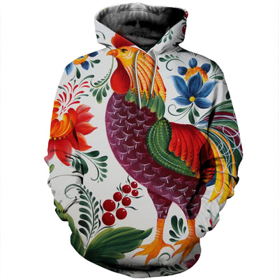 3D All Over Printed Chicken T Shirt Hoodie 4120193