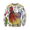 3D All Over Printed Chicken T Shirt Hoodie 4120194