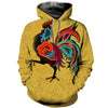 3D All Over Printed Chicken T Shirt Hoodie 4120197