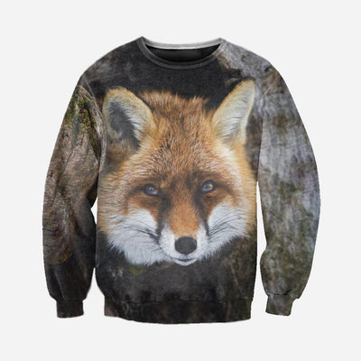 3D All Over Printed Fox Clothes 123