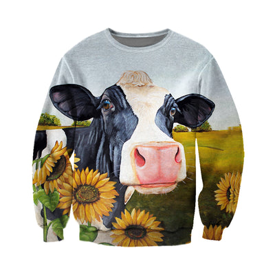 Copy of 3D All Over Printed Cow T Shirt Hoodie 2112092