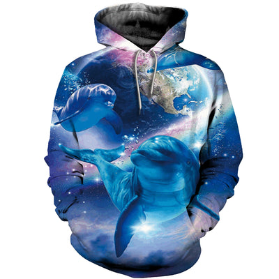 3D All Over Printed Dolphins T Shirt Hoodie 1213