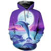 3D All Over Printed Dolphin T Shirt Hoodie 12131