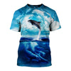 3D All Over Printed Dolphin T Shirt Hoodie 12134