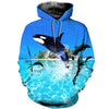3D All Over Printed Dolphin T Shirt Hoodie 12136