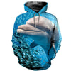 3D All Over Printed Dolphin T Shirt Hoodie 12137