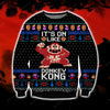 Donkey Kong KNITTING PATTERN 3D PRINT UGLY CHRISTMAS SWEATER