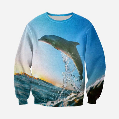 3D All Over Printed Dolphin Clothes 123