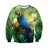 All Over Printed Parrot Hoodie 1218