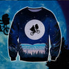 E.T. The Extra Terrestrial KNITTING PATTERN 3D PRINT UGLY CHRISTMAS SWEATER