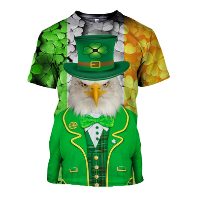 3D All Over Printed Eagle Patrick T Shirt Hoodie 2222019