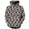 3D All Over Printed Ferret T Shirt Hoodie 1812015
