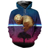 3D All Over Printed Ferret T Shirt Hoodie 1812016