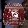 FIREFLY KNITTING PATTERN 3D PRINT UGLY CHRISTMAS SWEATER