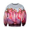 3D All Over Printed Flamingo T Shirt Hoodie 201204