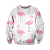 3D All Over Printed Flamingo T Shirt Hoodie 201206