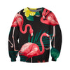 3D All Over Printed Flamingo T Shirt Hoodie 201209