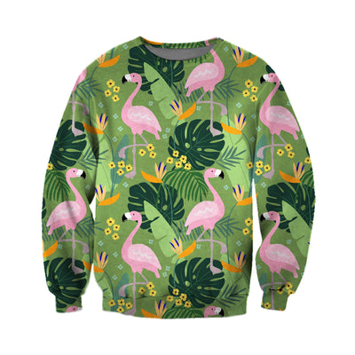 3D All Over Printed Flamingo T Shirt Hoodie 2012012