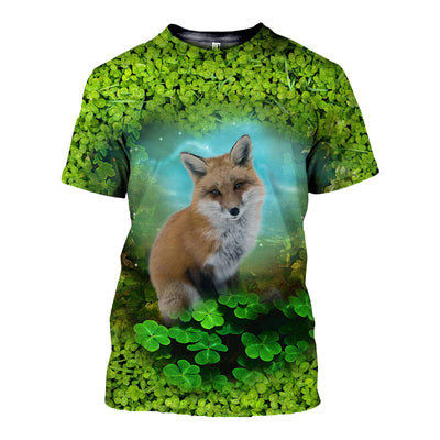3D All Over Printed Fox Patrick T Shirt Hoodie 2222019