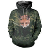 3D All Over Printed Fox Clothes 12710