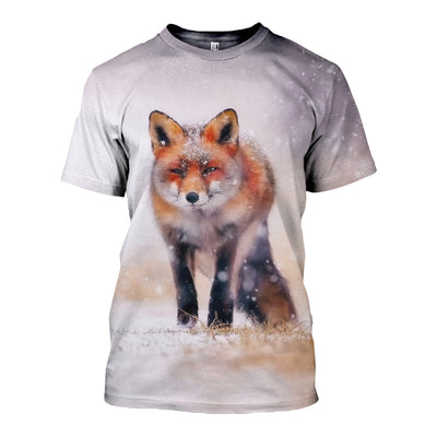 3D All Over Printed Fox Clothes 12711