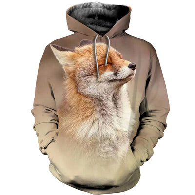 3D All Over Printed Fox Clothes 1272