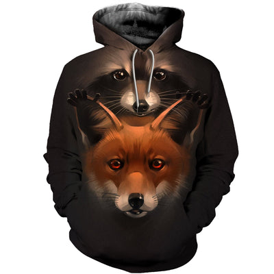 3D All Over Printed Fox Clothes 1276