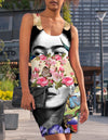 FRIDA KAHLO WOMEN'S RACERBACK DRESS
