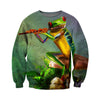 3D All Over Printed Frog T Shirt Hoodie 71201911