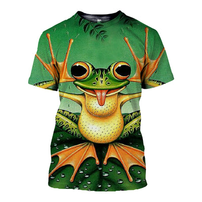 3D All Over Printed Frog T Shirt Hoodie 71201916