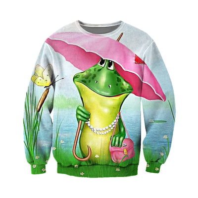 3D All Over Printed Frog T Shirt Hoodie 71201917