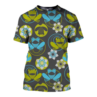 3D All Over Printed Frog T Shirt Hoodie 71201918