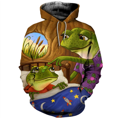 3D All Over Printed Frog T Shirt Hoodie 71201919