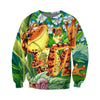 3D All Over Printed Frog T Shirt Hoodie 7120192