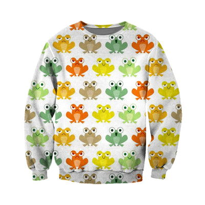 3D All Over Printed Frog T Shirt Hoodie 71201920