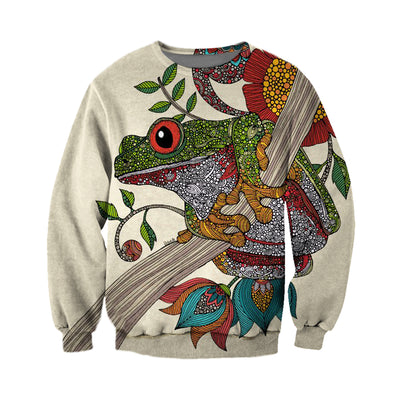 3D All Over Printed Frog T Shirt Hoodie 71201923
