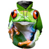 3D All Over Printed Frog T Shirt Hoodie 7120194