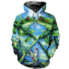 3D All Over Printed Frog T Shirt Hoodie 7120195