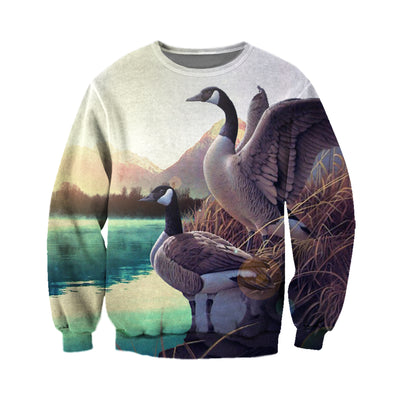3D All Over Printed Geese T Shirt Hoodie 912019