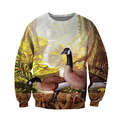 3D All Over Printed Geese T Shirt Hoodie 9120196